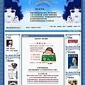 霝兒自製版型NO.18【藍色小精靈】(三欄/左右欄皆宜)
