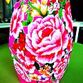 花布燈籠   NT$180  : )