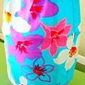 藍色的花布燈籠   NT$180  : )