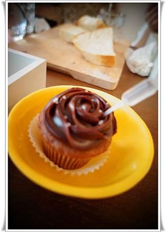 巧克力杯子蛋糕~