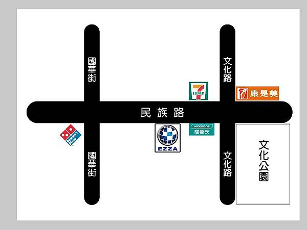 947-民族站 地圖
