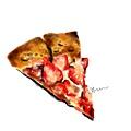 20130312_liker strawberrypizza  脫線