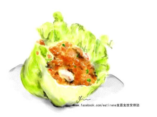 手繪食物_蝦鬆