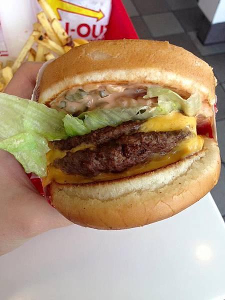 LA洛杉磯innout burger_手繪食物_eatirene