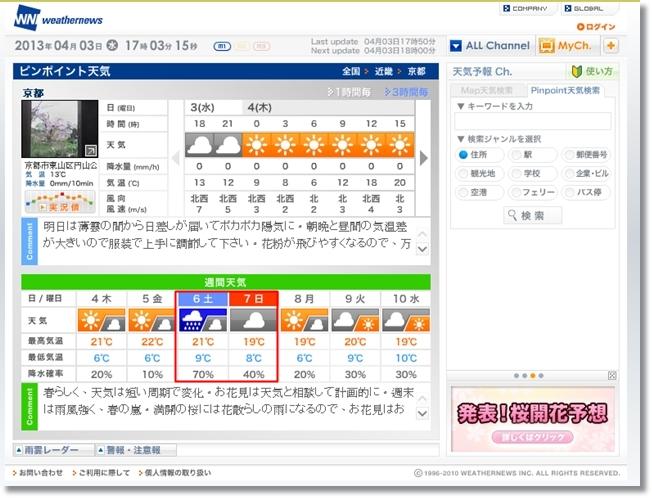 0467京都天氣