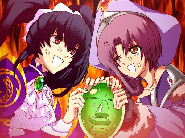 梅魯跟莉可搶面具.jpg