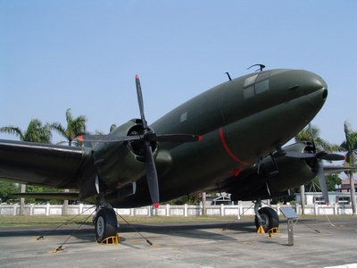 C-46 突擊隊式運輸機 ROCAF
