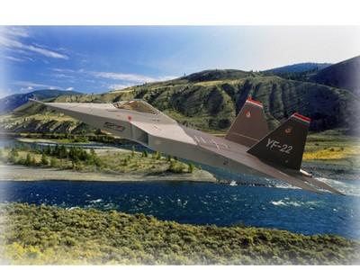 F-22  猛禽式隱形戰鬥機      Raptor