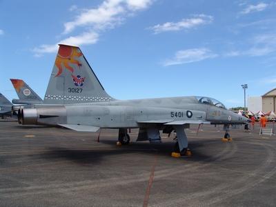 F-5F 中正號戰鬥教練機 Tiger 2