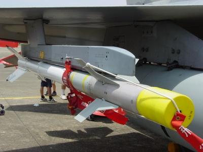 AIM-9P4 響尾蛇短程空對空飛彈 Sidewinder