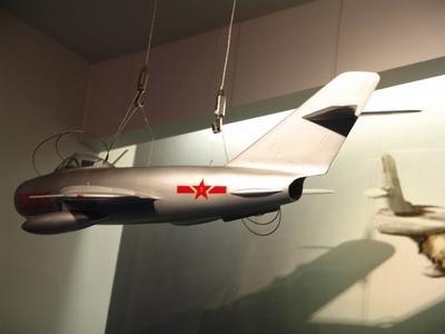 MiG-17 壁畫式戰鬥機 Fresco