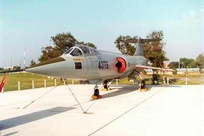 RF-104G 星式戰鬥偵察機 Starfighter