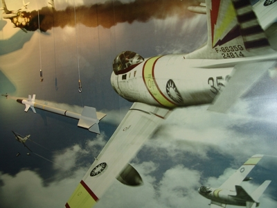 AIM-9B 響尾蛇空對空飛彈 Sidewinder