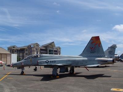F-5F 中正號戰鬥教練機 Tiger2