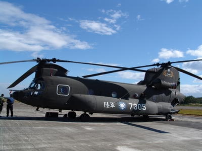 CH-47SD 運輸直升機 Super D Chinook