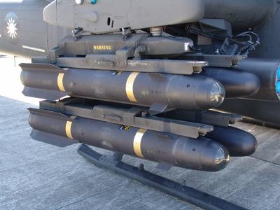 AGM-114K3/C 地獄火反裝甲飛彈  Hellfire