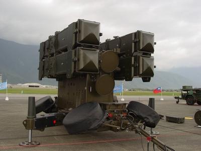 AIM-7F 麻雀地對空飛彈發射架