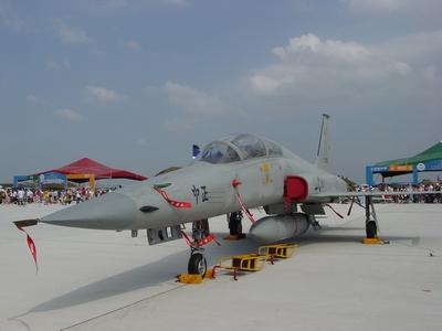 ROCAF F-5F Tiger2