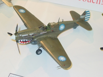 P-40 戰鷹式戰鬥機 Warhawk
