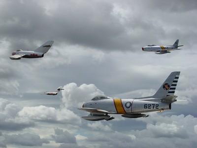 F-86F 軍刀式戰鬥機  Sabre