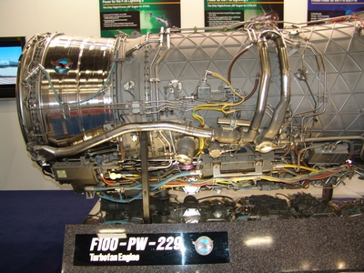 F100-PW-229 Turbofan Engine