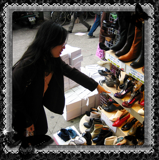 Carol 總會發現很多鞋