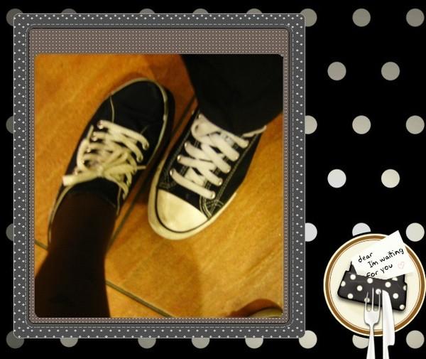 帆布鞋的一天~