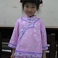 Yumi 長大一點的中國扮相