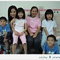 2008 summer 四姊弟出發到日本前
