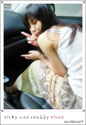 2009.06.07 不如就一直躲在車上吹冷氣吧~