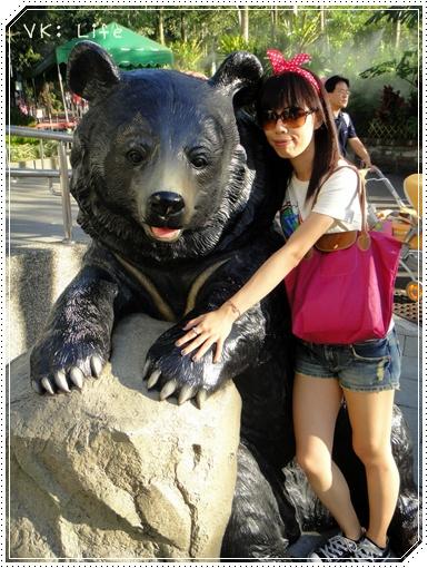 2010/08/20 黑熊可愛喔 ♥