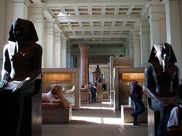 大英博物館埃及區