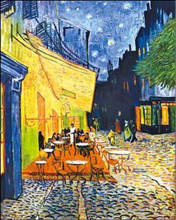梵谷畫作〈星空下的咖啡館〉1.11..jpg