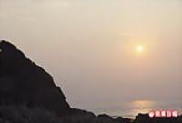 富貴角的風稜石與夕陽 4.25..jpg