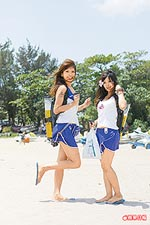 辣妹在南灣沙灘 7.1..jpg