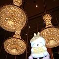 凱悅大廳的吊燈
