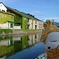 白天的小樽運河