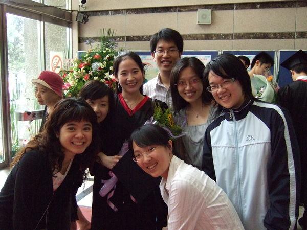 杏聲的學弟妹們