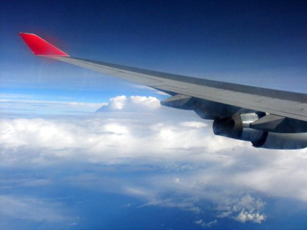 飛機的羽翼