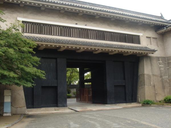 大阪城的大手門