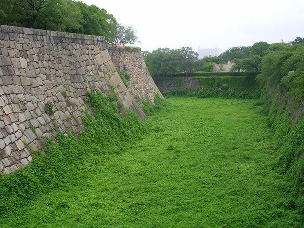這是內城的護城河