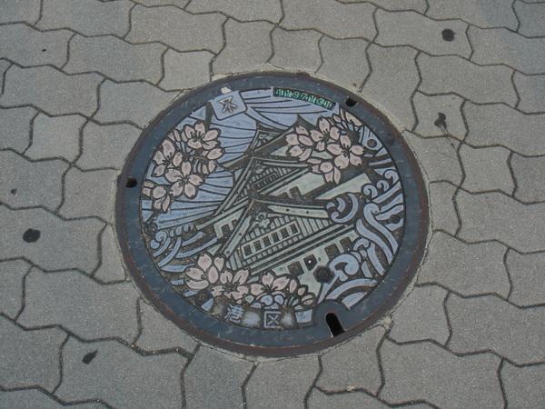 日本的水溝蓋都很有特色