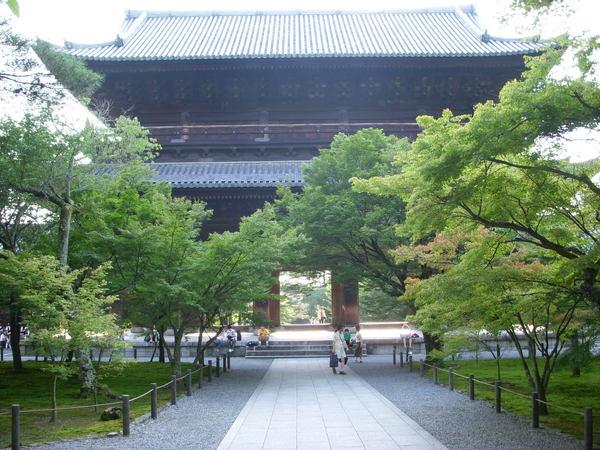 美麗寧靜的南禪寺