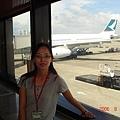 台灣準備登機
