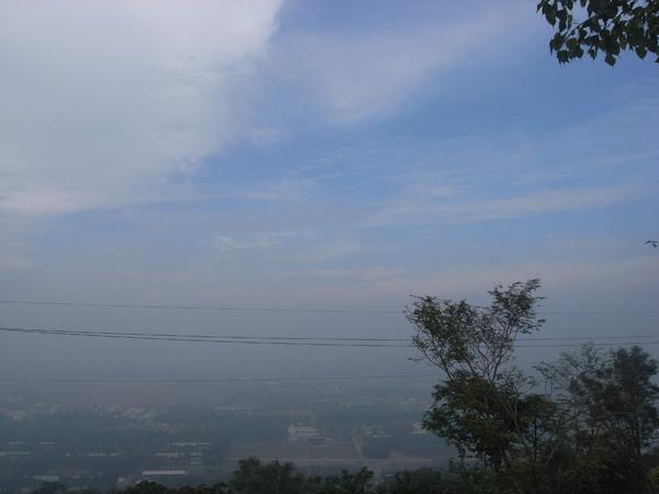 大岡山 山頭外面風景