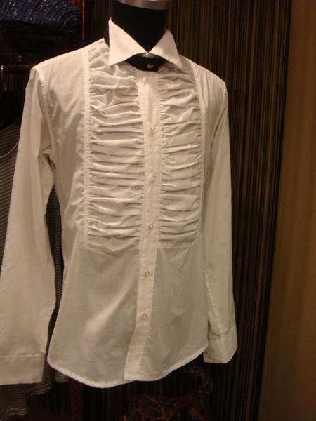 紳士時尚胸褶衫
