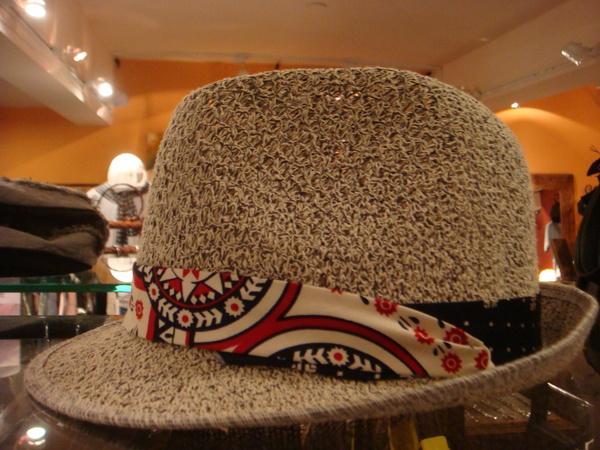 炎夏裸洞紳士帽A
