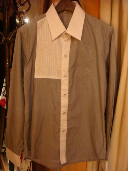 單片設計長衫
