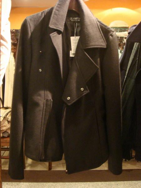 雙領造型短版外套