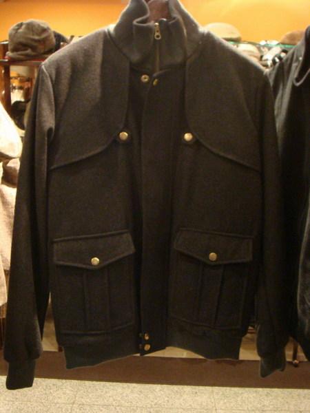 短版毛料時裝外套